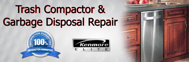Kenmore Trash Compactor and Garbage Disposal Repair  Aldine