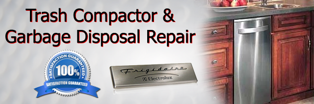 Fridgidaire Trash Compactor and Garbage Disposal Repair  Addicks Barker